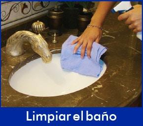 limpiar-banio